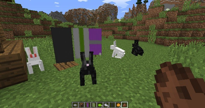 Minecraft 1.8  Pre-Release Brings Rabbits and Banners