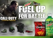 Call of Duty has teamed up with Doritos and Mountain Dew, no seriously