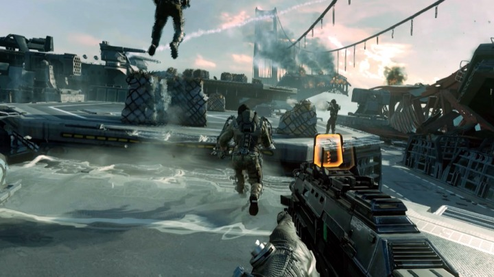Call of Duty Advanced Warfare Multiplayer draws from other games