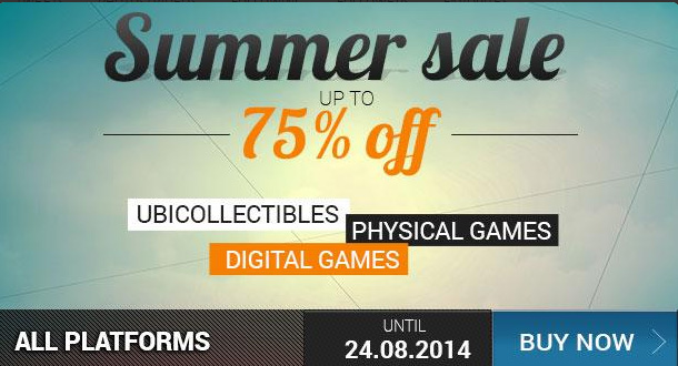 Ubisoft Summer Sale: Games Up To 75% Off
