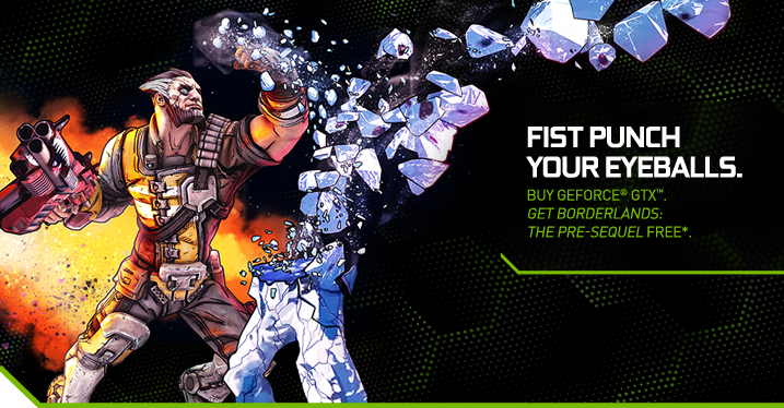 Borderlands: The Pre-Sequel Free With Qualifying NVIDIA Graphics Cards