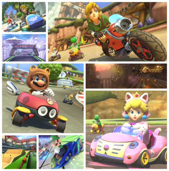 Legend of Zelda in Mario Kart 8 DLC