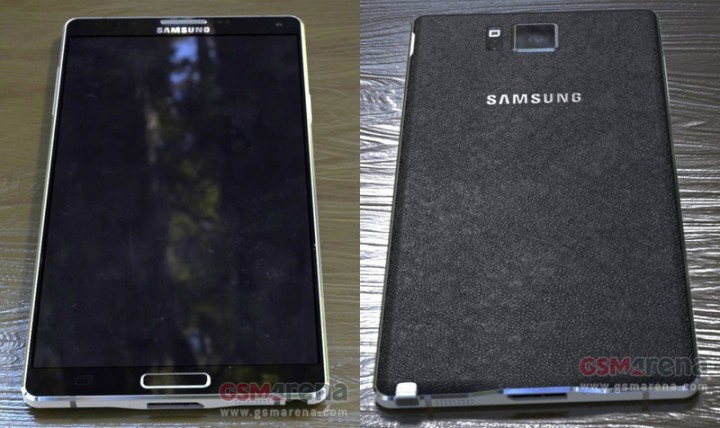 Samsung Galaxy Note 4 Leaked Images