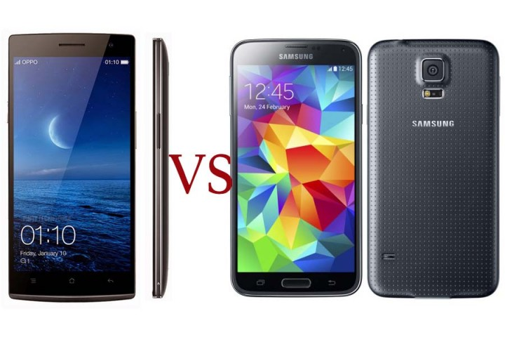 Oppo Find 7 Vs Samsung Galaxy S5 Dx Specs Features