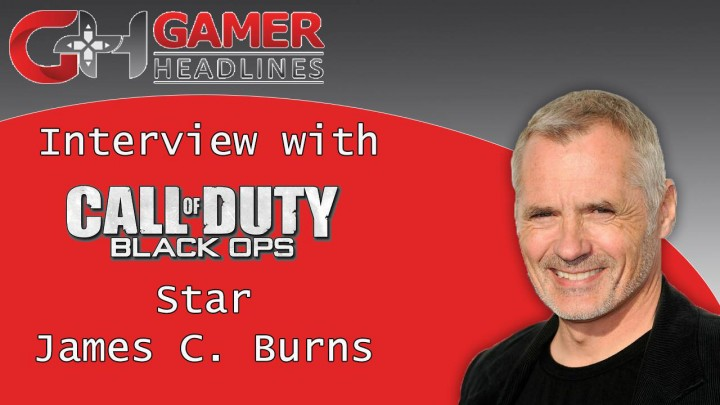Interview with COD & Coldwater star James C. Burns
