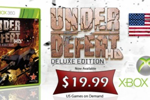 Under Defeat HD Deluxe Edition is Available for the XBox 360!
