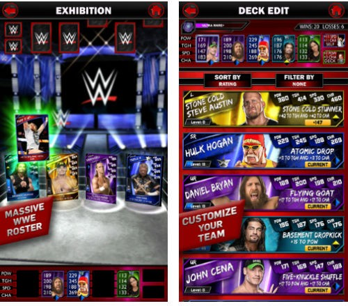 2K announces WWE Supercards for iOS and Android