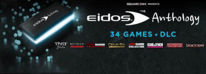Get the 34 game strong Eidos Anthology collection for a massive 80% off until September 30th