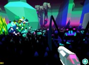 Heavy Bullets: A Psychedelic FPS launches on Steam today