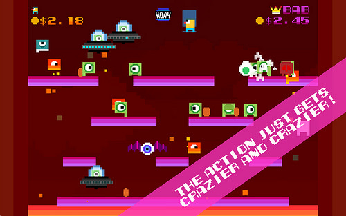 '80s Arcade Inspired Game 'Woah Dave!' Coming to PS4 and PS Vita Soon