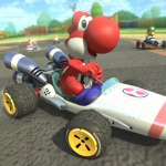 Mario Kart DS B Dasher Kart Included in Mario Kart 8 Pack 1 DLC