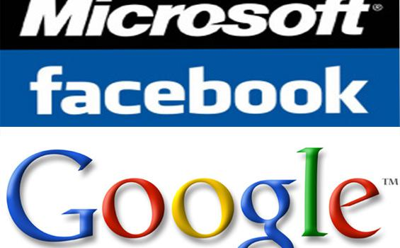 Comparing Microsoft, Facebook and Google