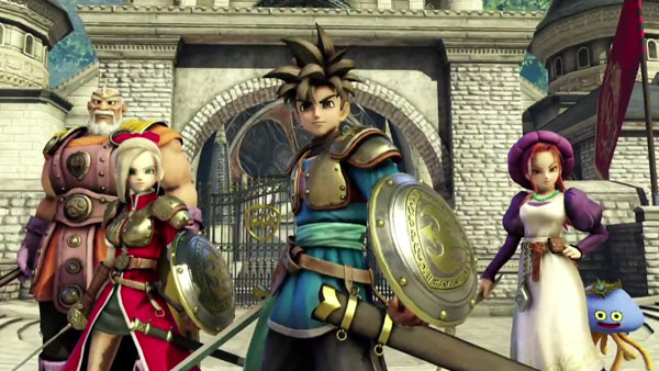 Dragon Quest Heroes for PS4 is revealed at SCEJA
