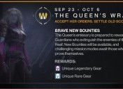 Queen's Wrath Event Goes Live In Destiny Today