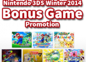 Nintendo 3DS Winter 2014 Bonus Game Promotion details revealed