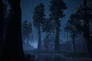 Without Memory adds Two Male Characters with Wet Forest