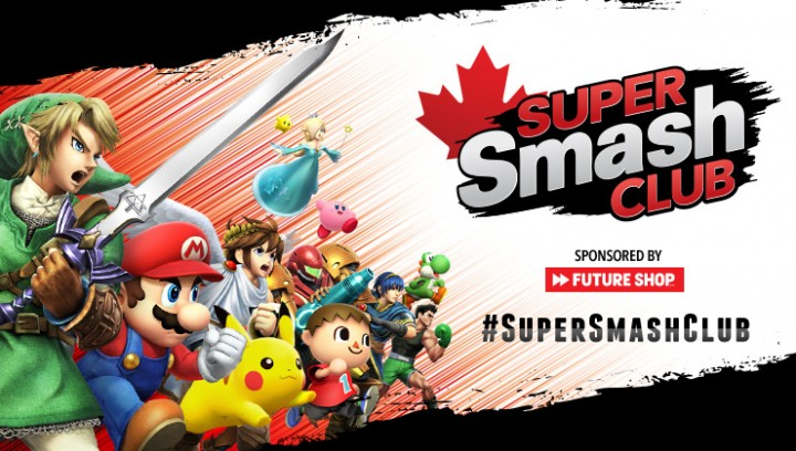 Nintendo has Announced the Canada Exclusive Super Smash Club