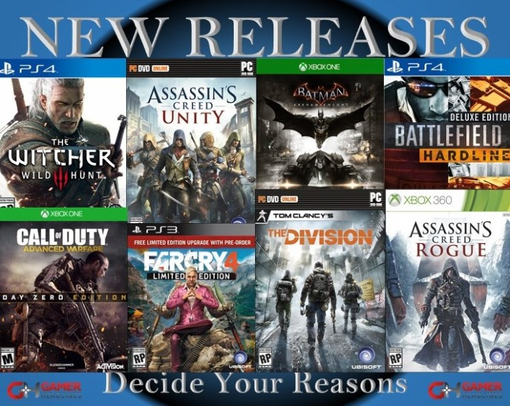 New Releases – Decide Your Reasons