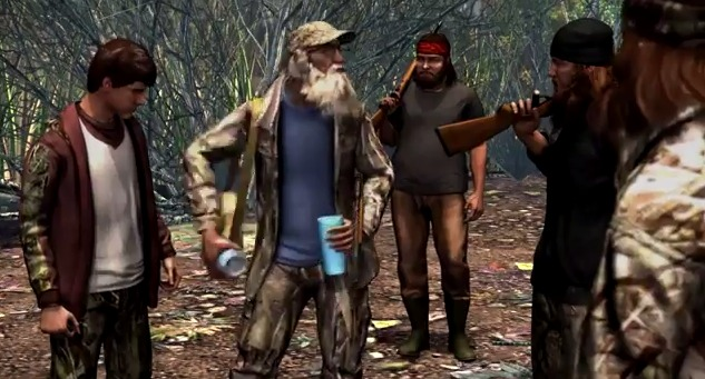 duck dynasty game for xbox 360 movie