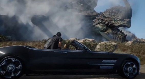 Ditch the Chocobo for the Nice Wheels in Final Fantasy XV!