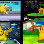 Evolution and Taunts of 12 Characters in Super Smash Bros.