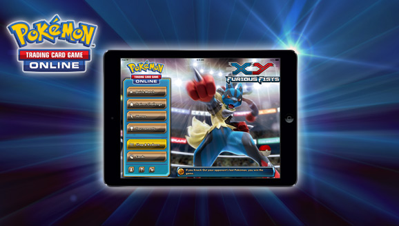 Pokemon TCG Online is available today for the iPad in America and the UK