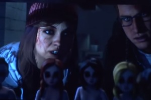 Eight Minutes of Horrors from Until Dawn scenes and gameplay