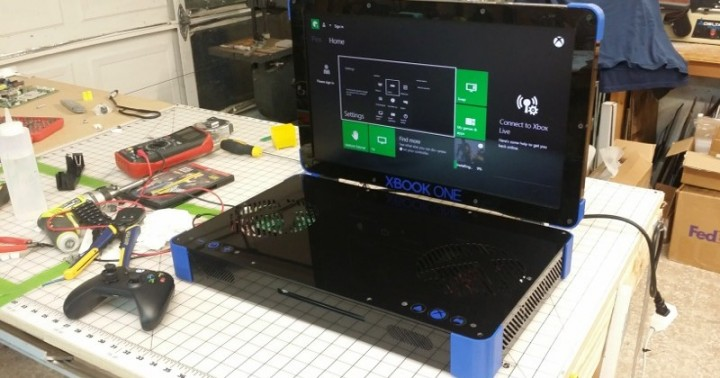 Xbox One to XBOOK ONE: Custom-built Xbox One laptop out now