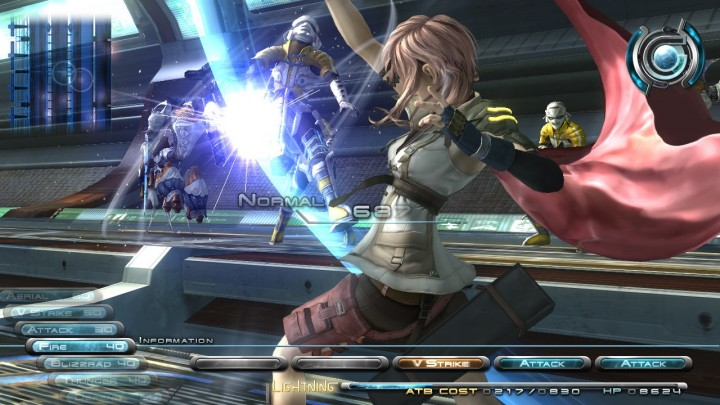 Final Fantasy XIII is locked at 720p on PC