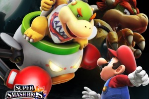 Smash Bros Videos: Wii U Intro and Bowser Jr. Enters the battle
