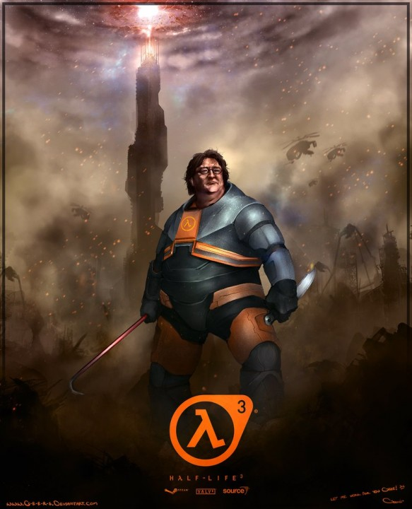Half Life 3 Crowdfunding Campaign is Raising an Army of Gabe