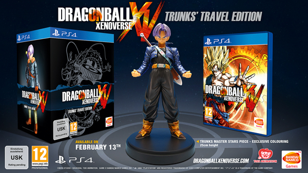 Pre-order the new Dragon Ball Xenoverse Trunk's Travel Edition and get an exclusive 25cm Figurine