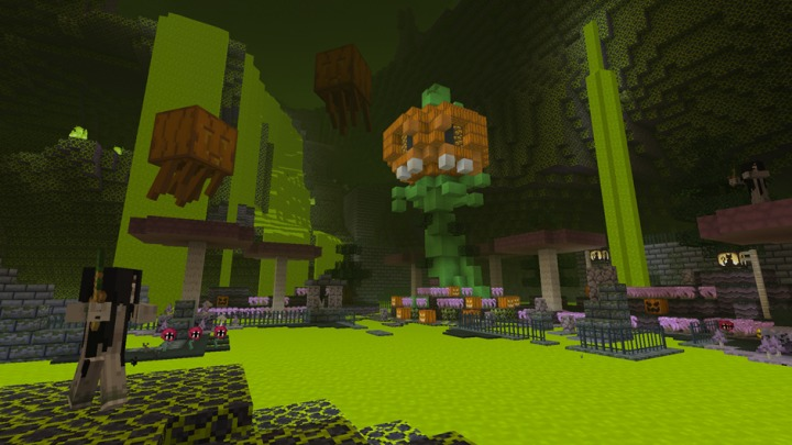 Minecraft- Halloween and Steampunk Texture Packs