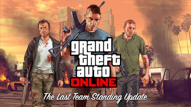 The lastest GTA Online Update The Last Team Standing is live