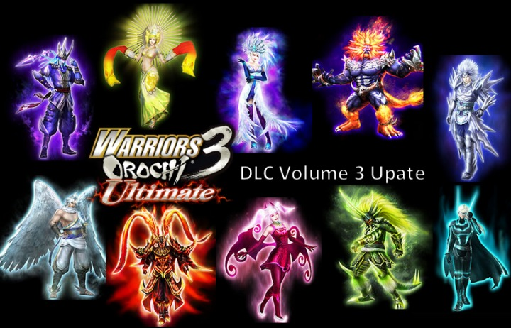 Volume 3 of DLC for Warriors Orochi 3: Ultimate in NA and EU