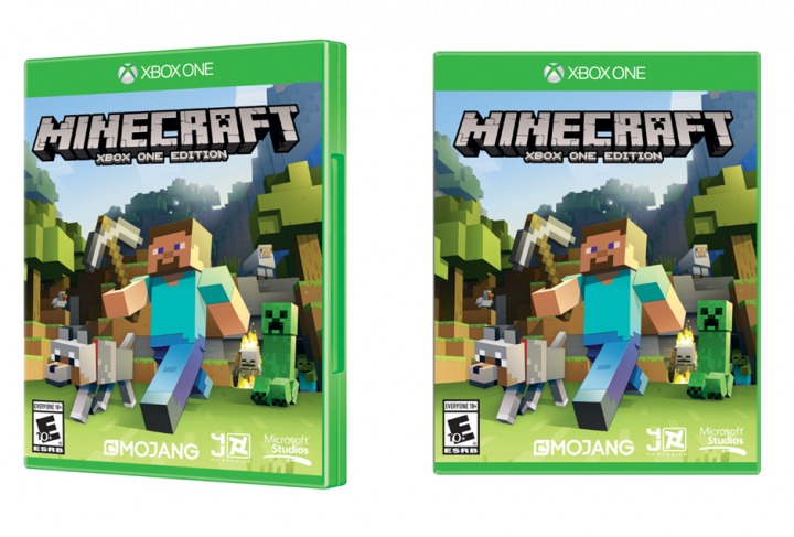 Minecraft release date for Xbox One