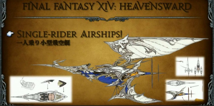 single-rider airships