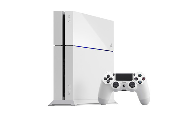 Ps4- White Console Variant for Purchase in UK this Friday