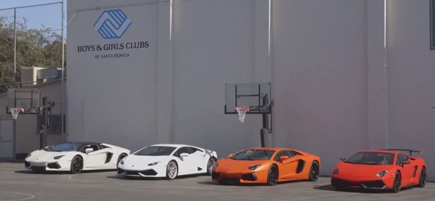XBox, Lamborghini and Hot Wheels hosted Car Lovers Day