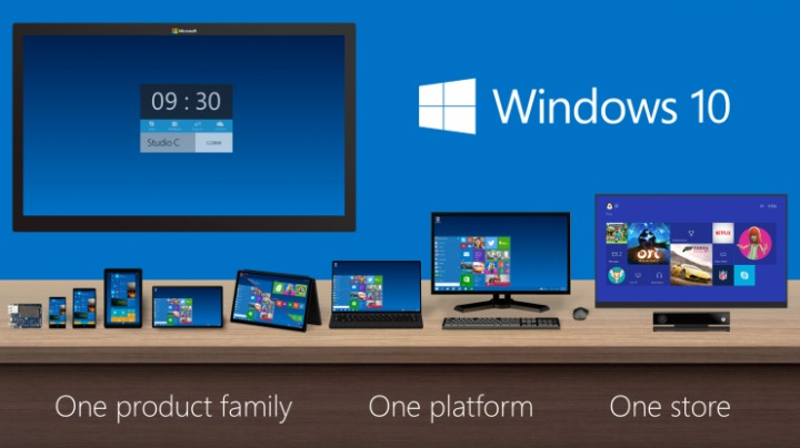 Windows 10 coming to Xbox One in 2015