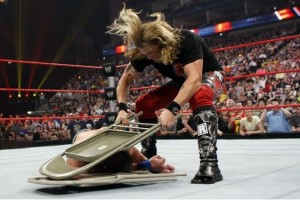 WWE 2K15: One edition of the game comes with a metal folding chair