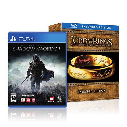 Shadow of Mordor and the Lord of the Rings Bundle