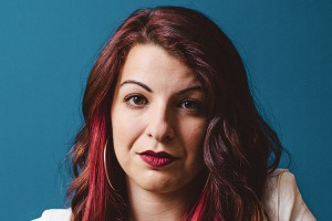"""Anita Sarkeesian dubbed the """"Video Game Avenger"""" on magazine cover"""