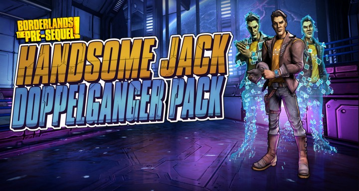 First Borderlands Pre-Sequel DLC Lets You Play As Handsome Jack's Doppleganger