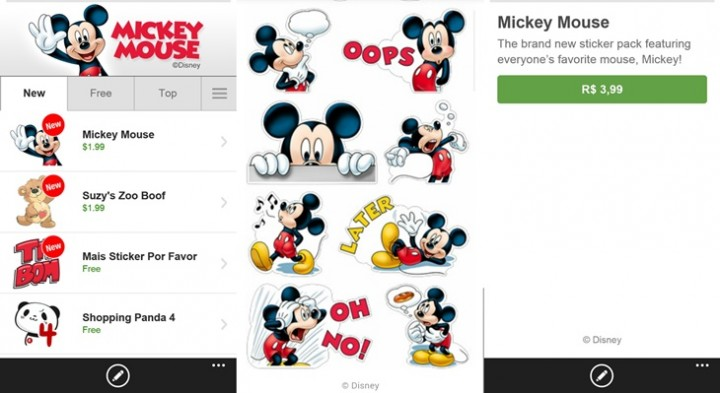 Disney stickers now available on viber
