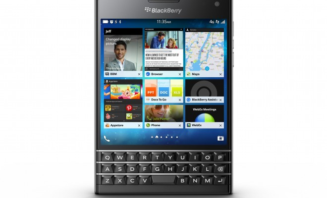 Looking At BlackBerry Passport For The Best Business Phone