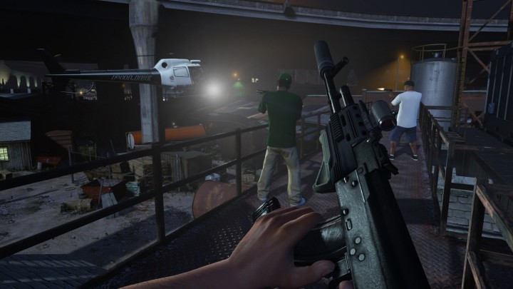 First-Person Mode Confirmed for GTA V on Next-Gen and PC