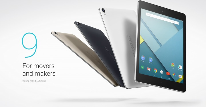 The Nexus 9 Tablet is now available!