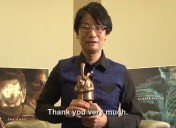 Hideo Kojima Receives Cinematography in Videogames Award During Bradford Animation Festival
