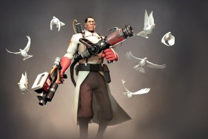 What's so bad about playing Medic in Team Fortress 2?
